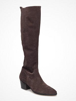 Angulus Bootie - Block Heel - With Zippe