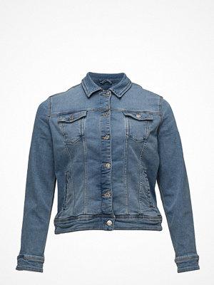 Violeta by Mango Medium Wash Denim Jacket