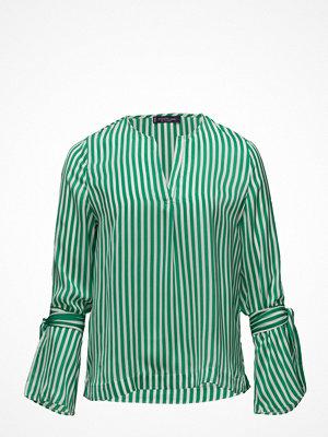 Violeta by Mango Striped Bow Blouse