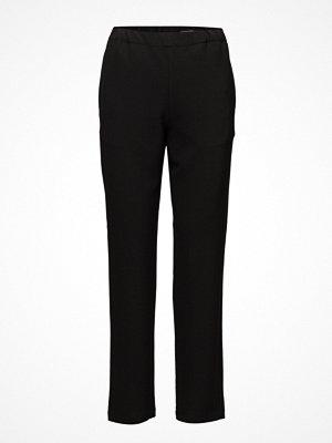 Marimekko svarta byxor Elena Long Solid Trousers