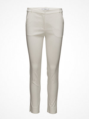 Mango vita byxor Crop Slim-Fit Trousers