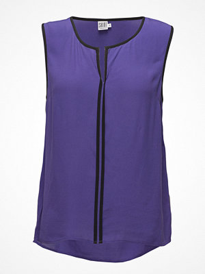 Saint Tropez Top With Contrast Pipings