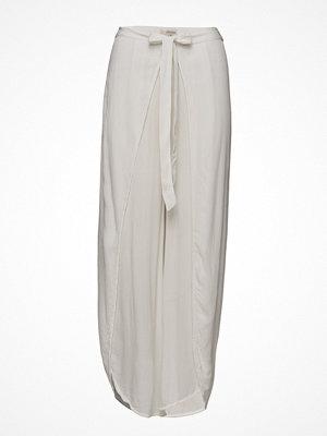 Cream ljusgrå byxor Sadie Pants