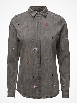 Scotch & Soda Allover Embroidered Shirt
