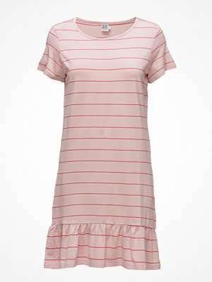 Saint Tropez Striped Dress W. Peplum
