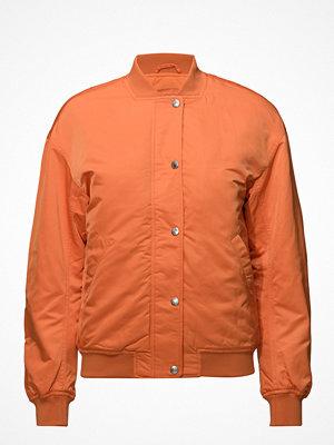 Calvin Klein Jeans röd bomberjacka Snap Button Nylon Bomber