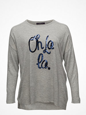 Violeta by Mango Sequin Message Sweater