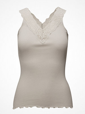 Rosemunde Silk Top V-Neck Regular W/ Lace