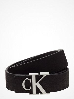 Bälten & skärp - Calvin Klein J Monogram Leather Belt 3cm