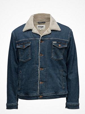 Jeansjackor - Wrangler Sherpa Jacket