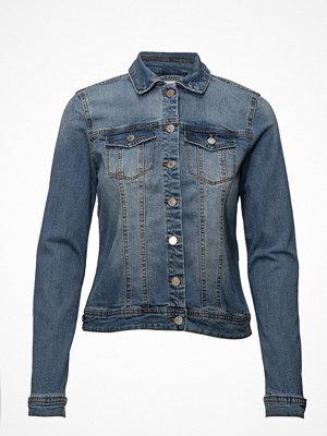 Jeansjackor - Vila Vilucca Ruffle Denim Jacket