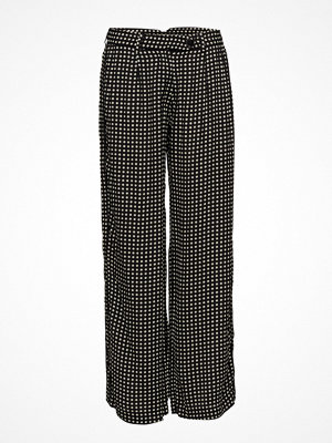 nué notes svarta rutiga byxor Callas Pants
