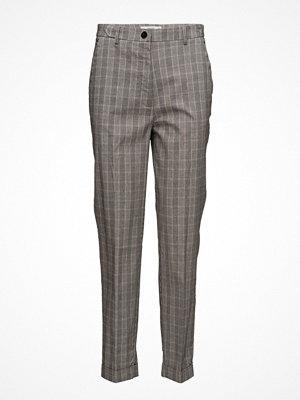 Mango byxor Check Suit Trousers