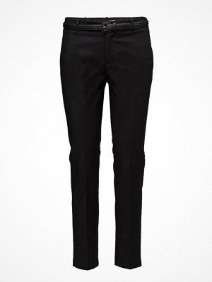 Mango svarta byxor Cotton Suit Trousers