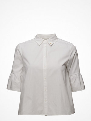 Skjortor - Scotch & Soda Shirt With Ruffles And Special Sleeves
