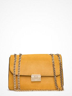 Mango axelväska Chain Leather Bag