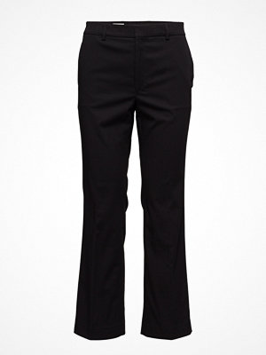 Filippa K svarta byxor Hudson Cotton Cropped Trousers