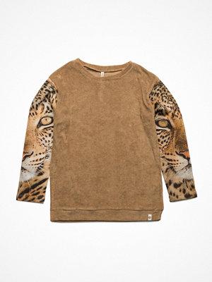 Popupshop Los Feliz Blouse Cardboard Terry/Leopard