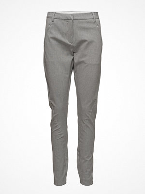 Fiveunits grå byxor Angelie 225 Dusty Grey Slim, Pants