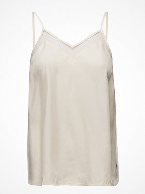 Coster Copenhagen Strap Top In Cupro W. Mesh