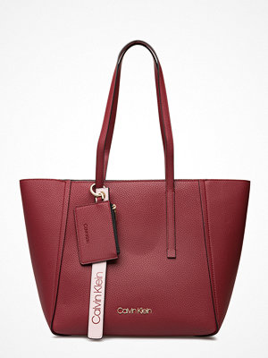Calvin Klein omönstrad shopper Ck Base Medium Shopp