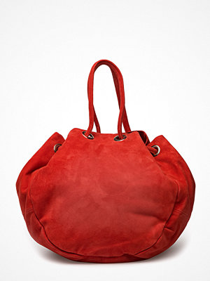 Gestuz röd shopper Bow Tote S Bag Ao18