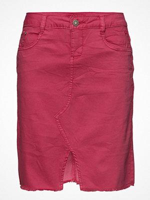 Cream Lotte Twill Skirt