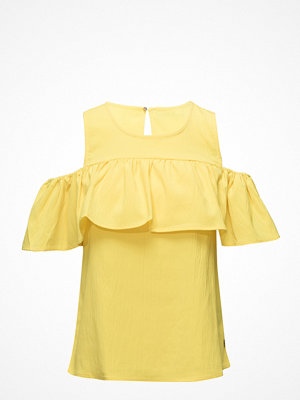 Coster Copenhagen Top W. Off-Shoulder Ruffle