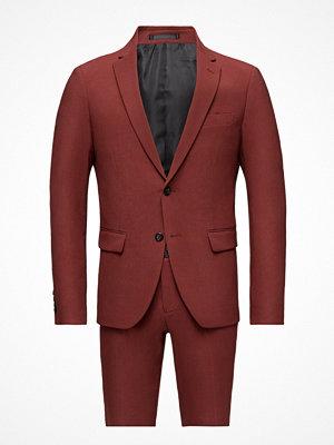 Kavajer & kostymer - Lindbergh Plain Mens Suit-Blazer + Pant