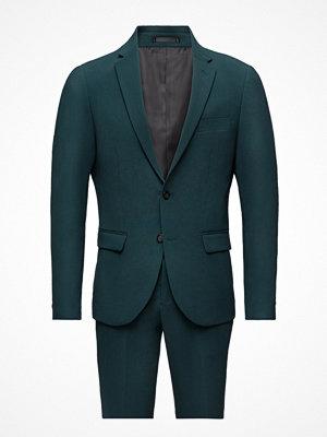 Lindbergh Plain Mens Suit-Blazer + Pant