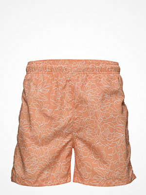 Badkläder - Gant Full Bloom Outline Swim Shorts C.F.