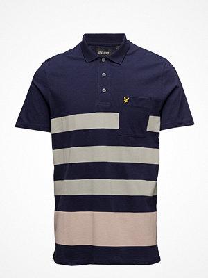 Lyle & Scott Wide Stripe Polo Shirt