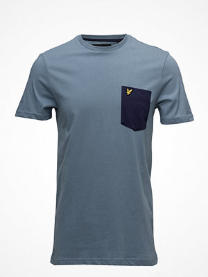 T-shirts - Lyle & Scott Contrast Pocket T Shirt