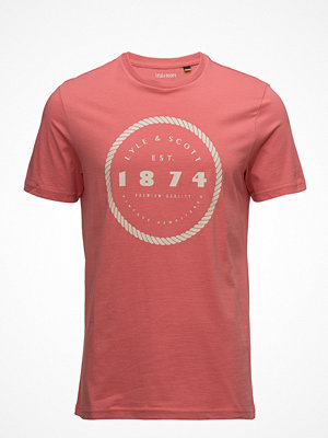 T-shirts - Lyle & Scott Graphic Print T Shirt