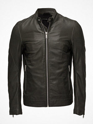 Skinnjackor - Junk De Luxe Leather Rider Jacket