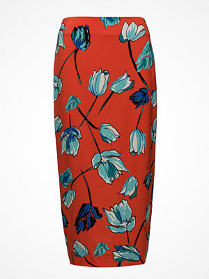 Diane von Furstenberg Tailored Midi Pencil Skirt