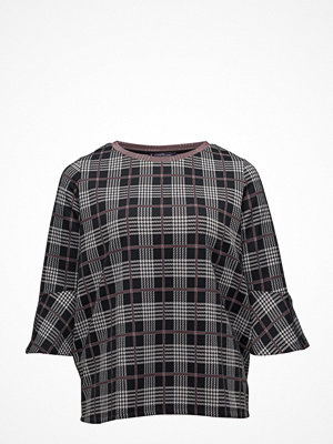 Violeta by Mango Prince Of Wales Blouse