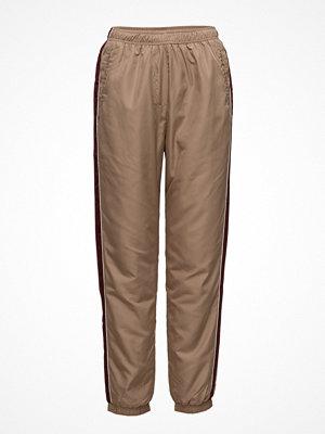 Wood Wood beige byxor Mitzi Trousers