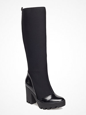 Stövlar & stövletter - Calvin Klein Shania Neoprene/Spazzolato Pu