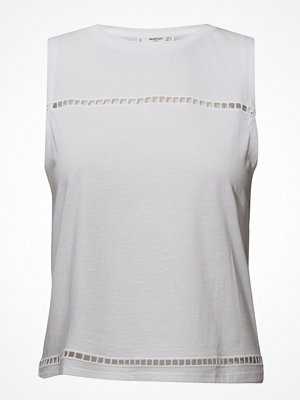 Mango Openwork Cotton Top