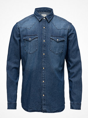 Selected Homme Slhslimned-Smith Shirt Ls W Noos