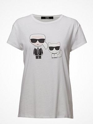 Karl Lagerfeld Karl Lagerfeld-Karl & Choupette Ikonik Tee