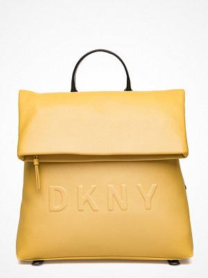 DKNY Bags gul ryggsäck Tilly- Md Backpack