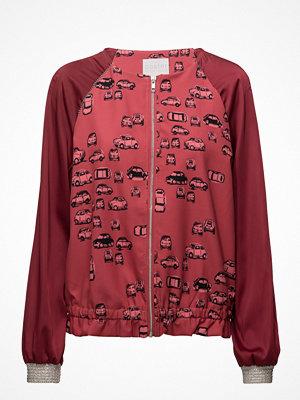 Coster Copenhagen bomberjacka med tryck Jacket W. Roadtrip Print