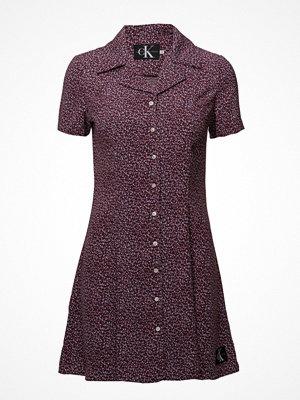 Calvin Klein Jeans Flower Print Dress,