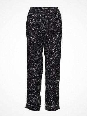 Morris Lady svarta byxor med tryck AméLie Printed Trousers