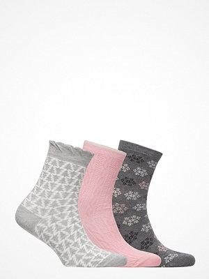 Strumpor - Vogue Ladies Anklesock, Winter Socks, 3-Pack