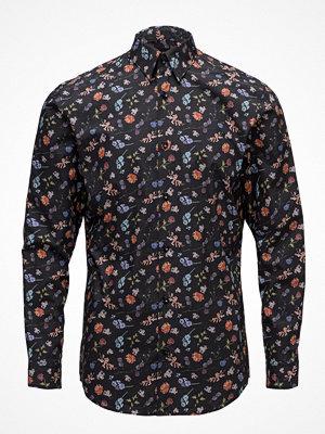 Selected Homme Slhslimlit-Tor Shirt Ls Digital Ex