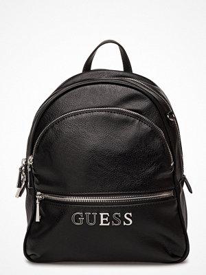 Guess svart ryggsäck Anhattan Backpack