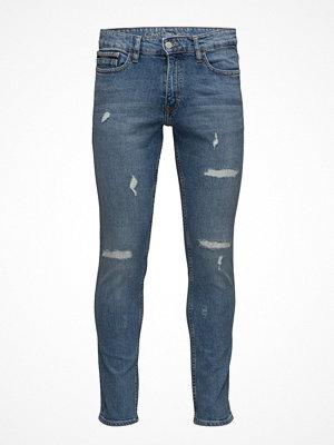 Calvin Klein Jeans Skinny-Manchester Blue Dstr Cmf